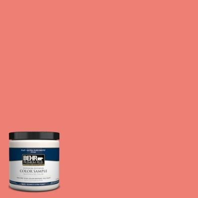 Behr Premium Plus 8 Oz 170b 5 Youthful Coral Interior Exterior Paint Sample 170b 5pp At The Home De Exterior Paint Behr Premium Plus Ultra Behr Marquee Paint