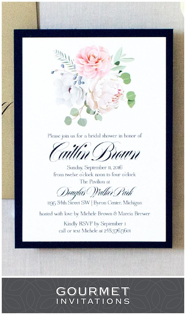 Bridal shower invitation wording pinterest eucalyptus leaves flowers and eucalyptus leaves are front and center on these vintage style wedding shower invitations pin to your own boards and click the photo to see more filmwisefo