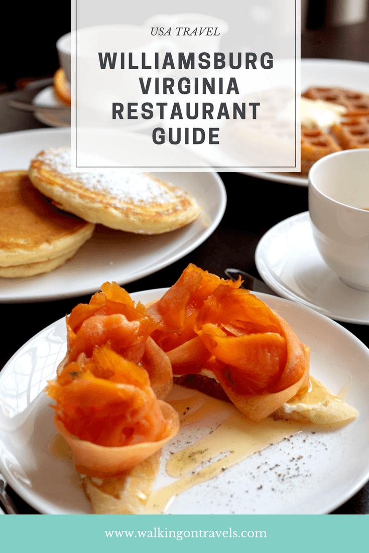 Williamsburg Virginia Restaurant Guide Best Breakfast Brunch Cupcakes Bakeries Lunch And