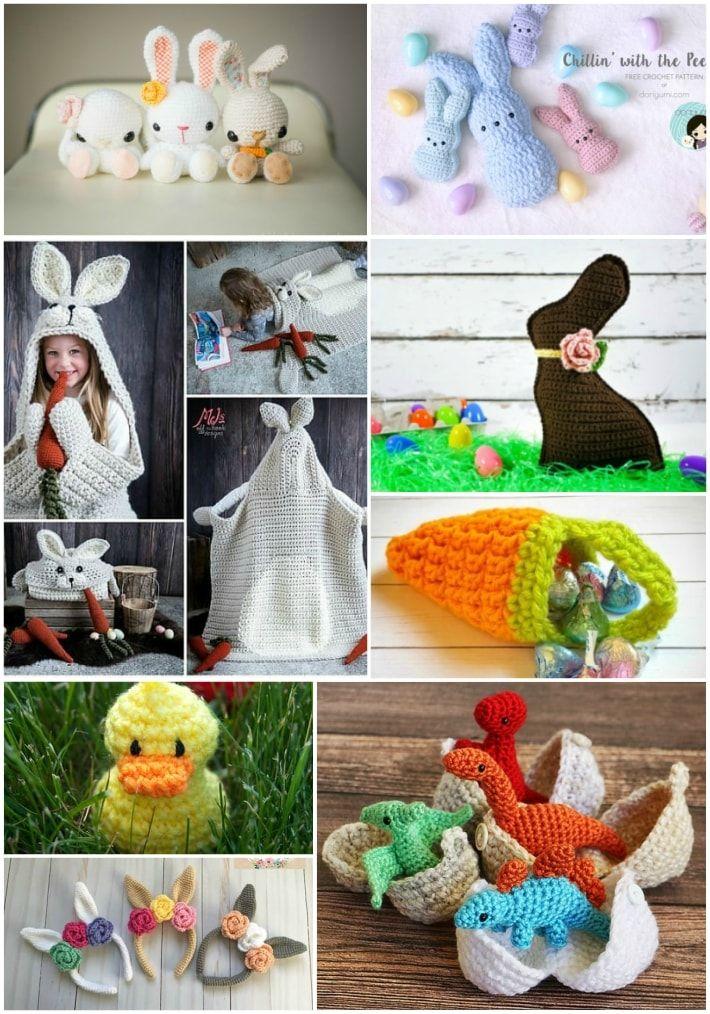 10 Adorable Easter Crochet Patterns Easter Crochet Patterns