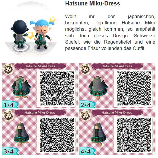 Miku Hatsune Dress By Hanne Animal Crossing Animal Crossing