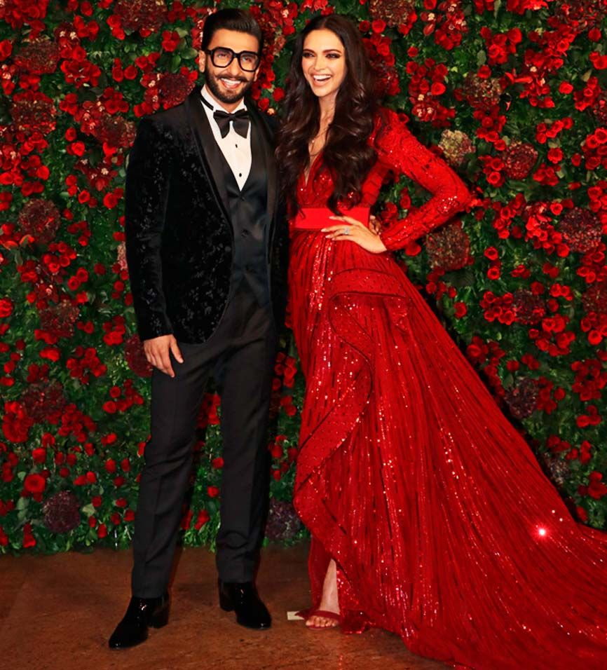 Deepveer Wedding All The Celebrities Spotted At Ranveer Singh And Deepika Padukone S Mumbai Reception Bollywood Fashion Deepika Padukone Style Bollywood Couples