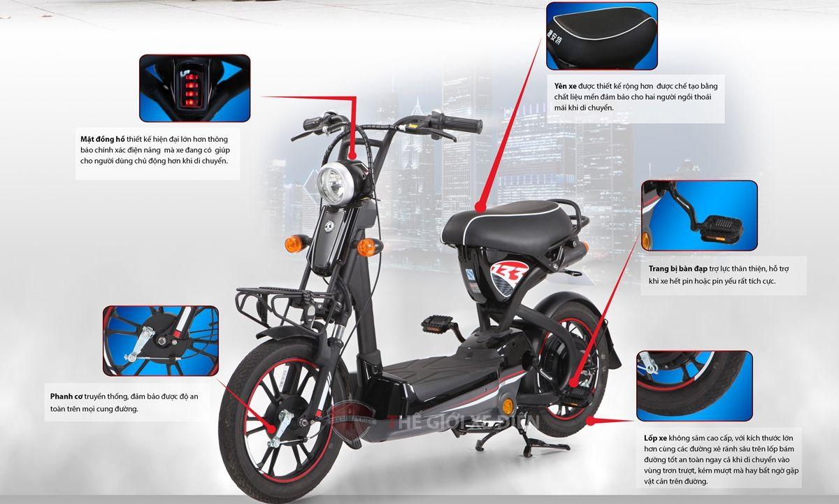 Xe đạp điện Giant M133g Xe đạp điện Xe đạp Xe Cộ