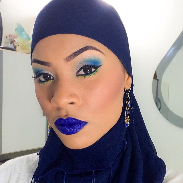 Here we go again my one of my favorite look of 2k14 thus far #beatthatface #blendthatshit #meltcosmetics #dgaf #wakeupandmakeup #dressyourface ##coloredraine #alteregopalette #selfie #makeupbypinky #makeuponpoint #bluelips #installurebeauty #beautytnt #lovemyjob #blueeverything 💙💙💙💙💙💄💄💄💄💎💎💎💎💎 #Padgram