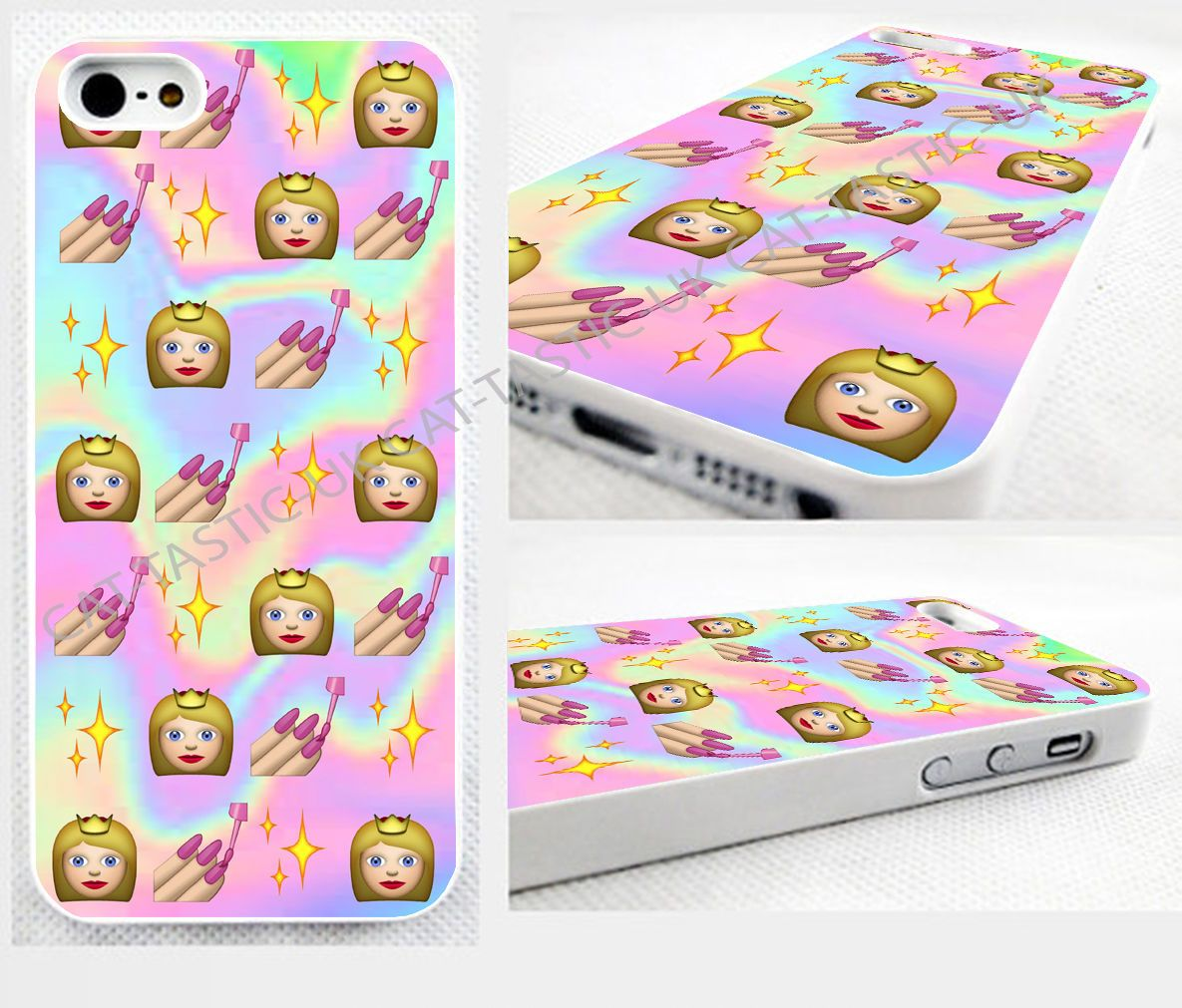 emoji emoticon thin case,cover,iPhone,iPod>Tie Dye