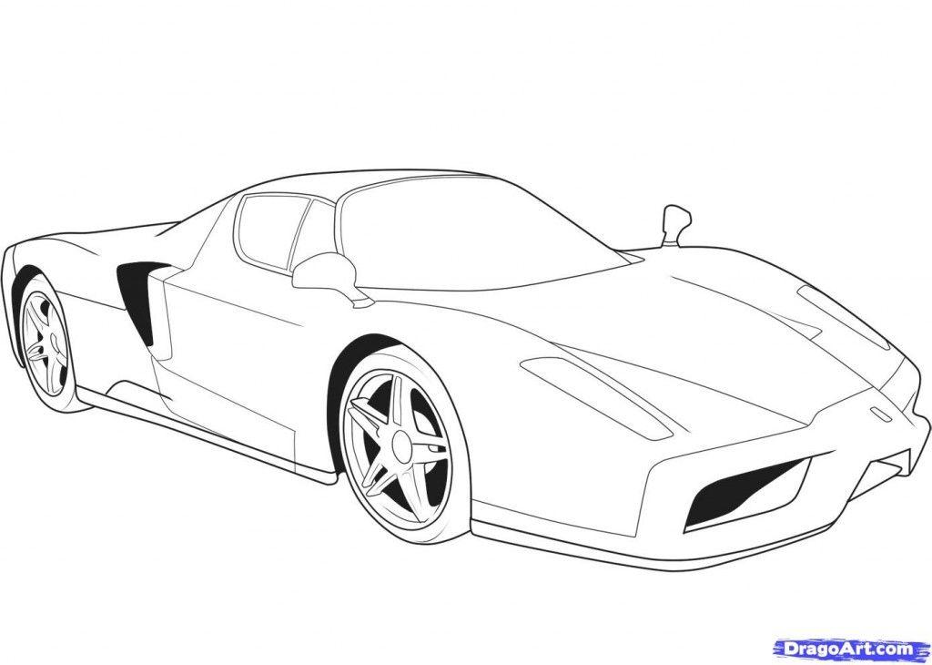 Draw Cool Cars Ferari Ferrari Car Drawings