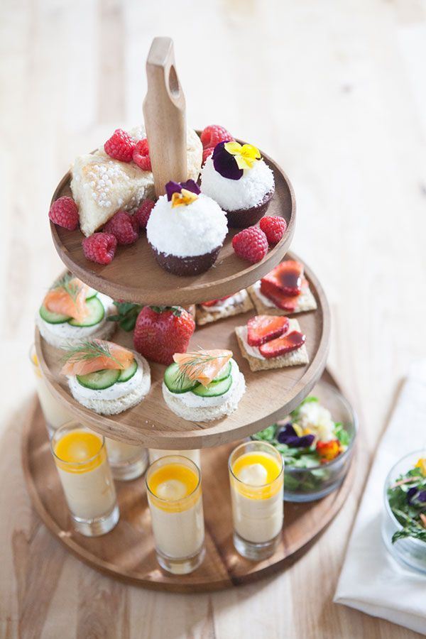 Ideas For Food A Fun Festive Tea Party Shower