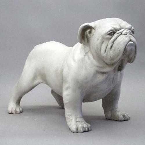 Life Size Bulldog Statue Bulldog Statue Bulldog Sculpture Animal Sculptures
