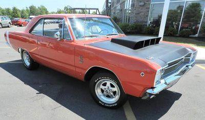 1968 Dodge Dart Gts Has A Super Stock Hemi Hood And S Matching