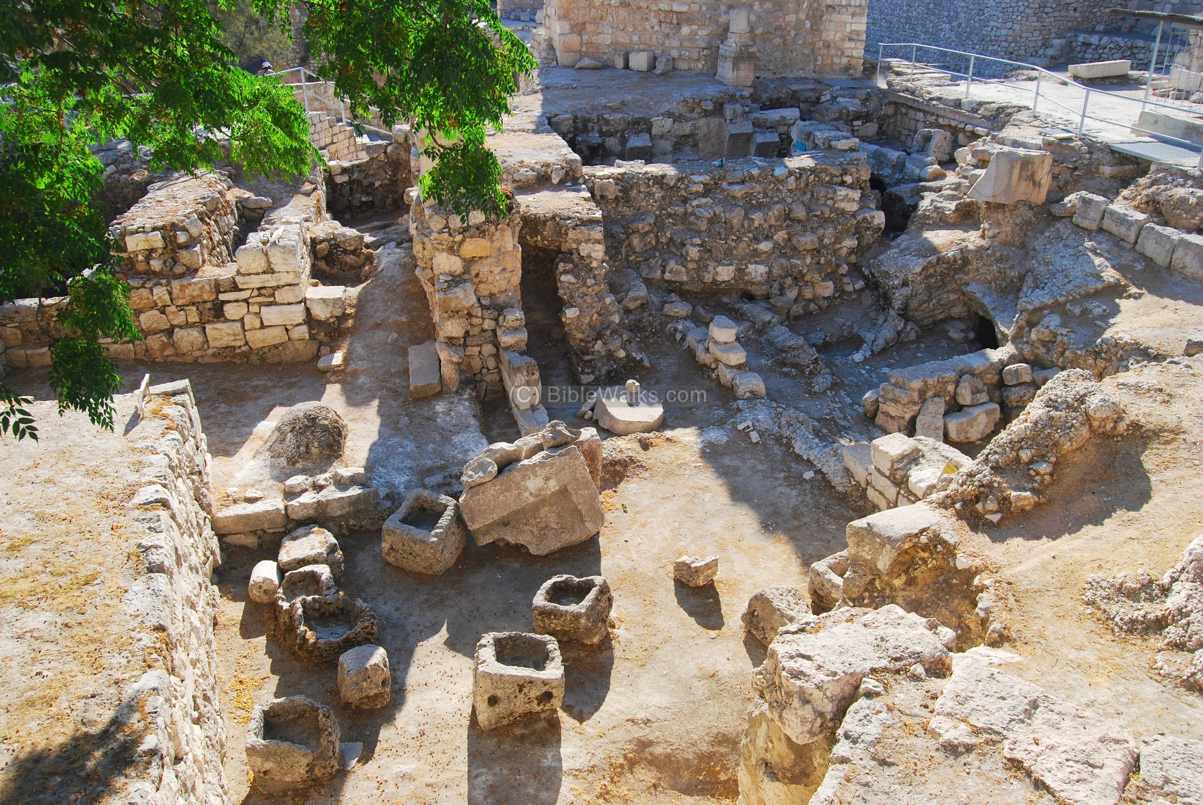 The Excavations Site Of The Ruins Of Bethesda John 5 2 Now There Is At Jerusalem By The Sheep Market A Pool Israel History Bible History Ancient Israel