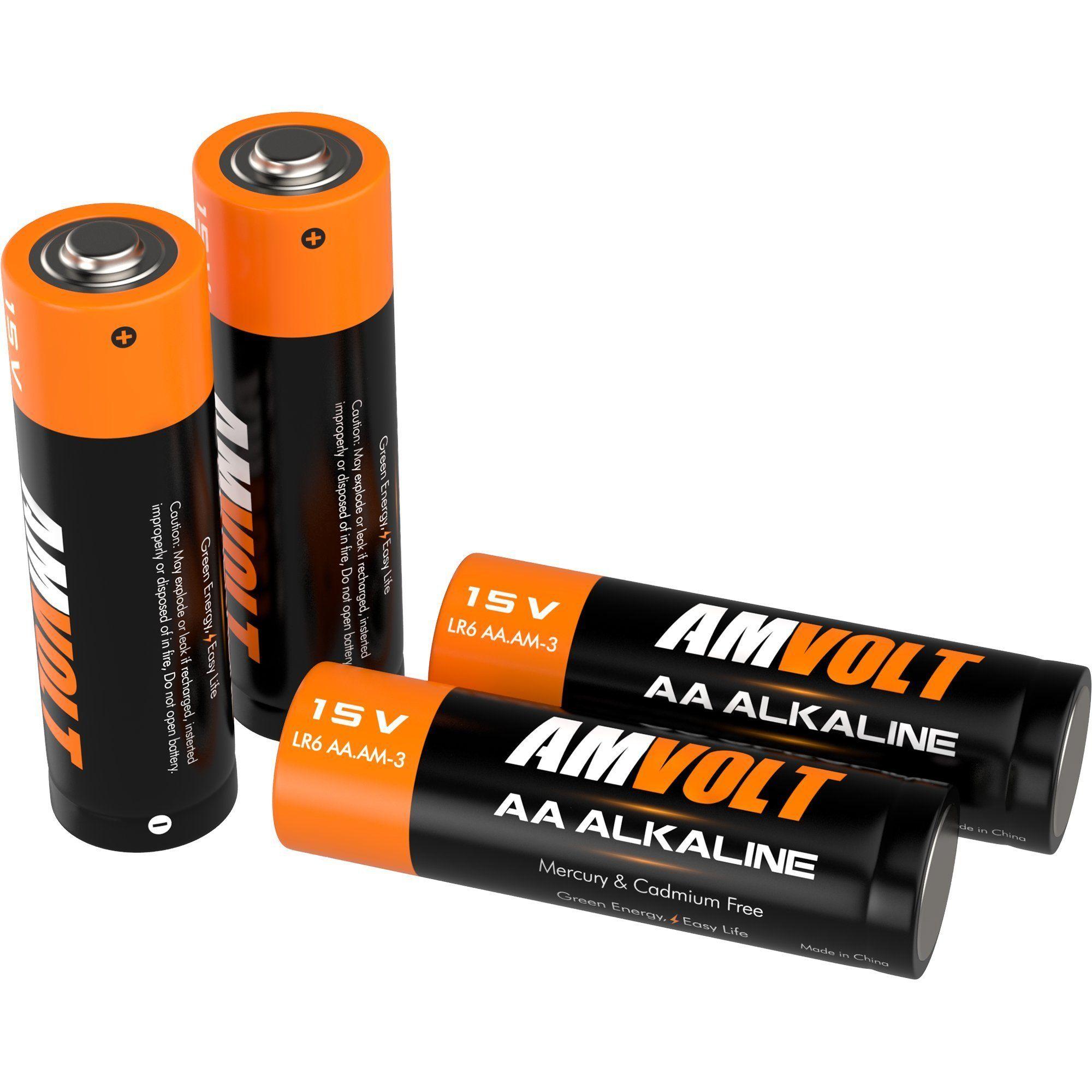 20 Pack Aa Batteries Premium Lr6 Alkaline Battery 1 5 Volt Non Rechargeable Batteries For Watches Cloc Rechargeable Batteries Game Controller Alkaline Battery