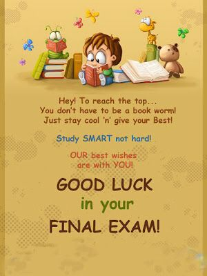 Pin by Lay Lee on Good Luck Good luck quotes, Luck quotes, Exam