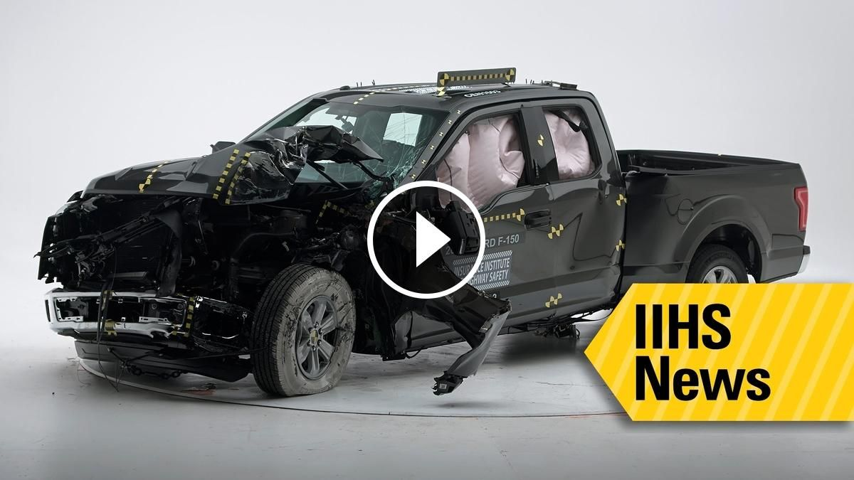 Only 1 Pickup Earns Top Safety Rating Iihs Heavy Truck Trucks