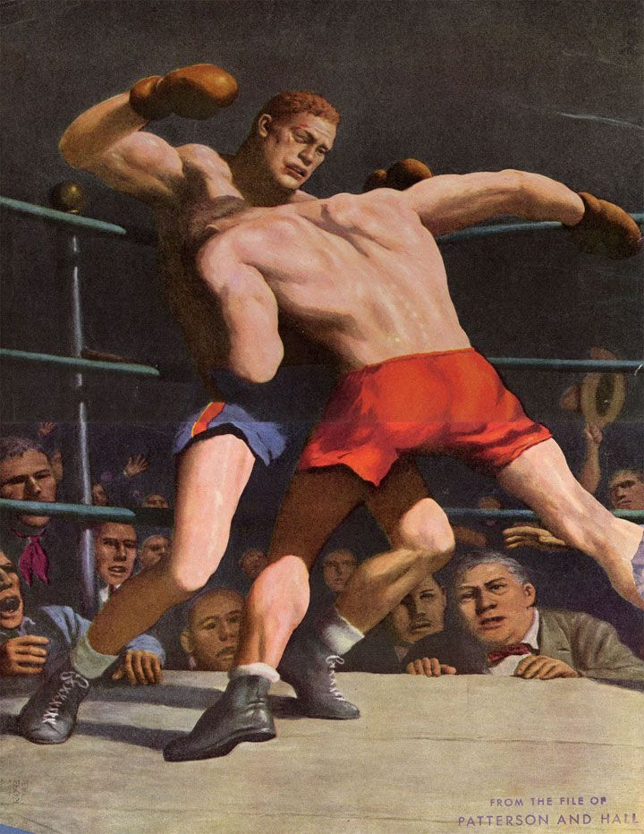 Boxers Robert Riggs Masculine Art Martial Arts