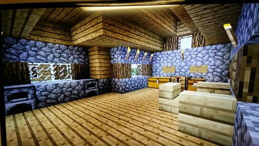 Inside Small Survival House House Minecraft Small