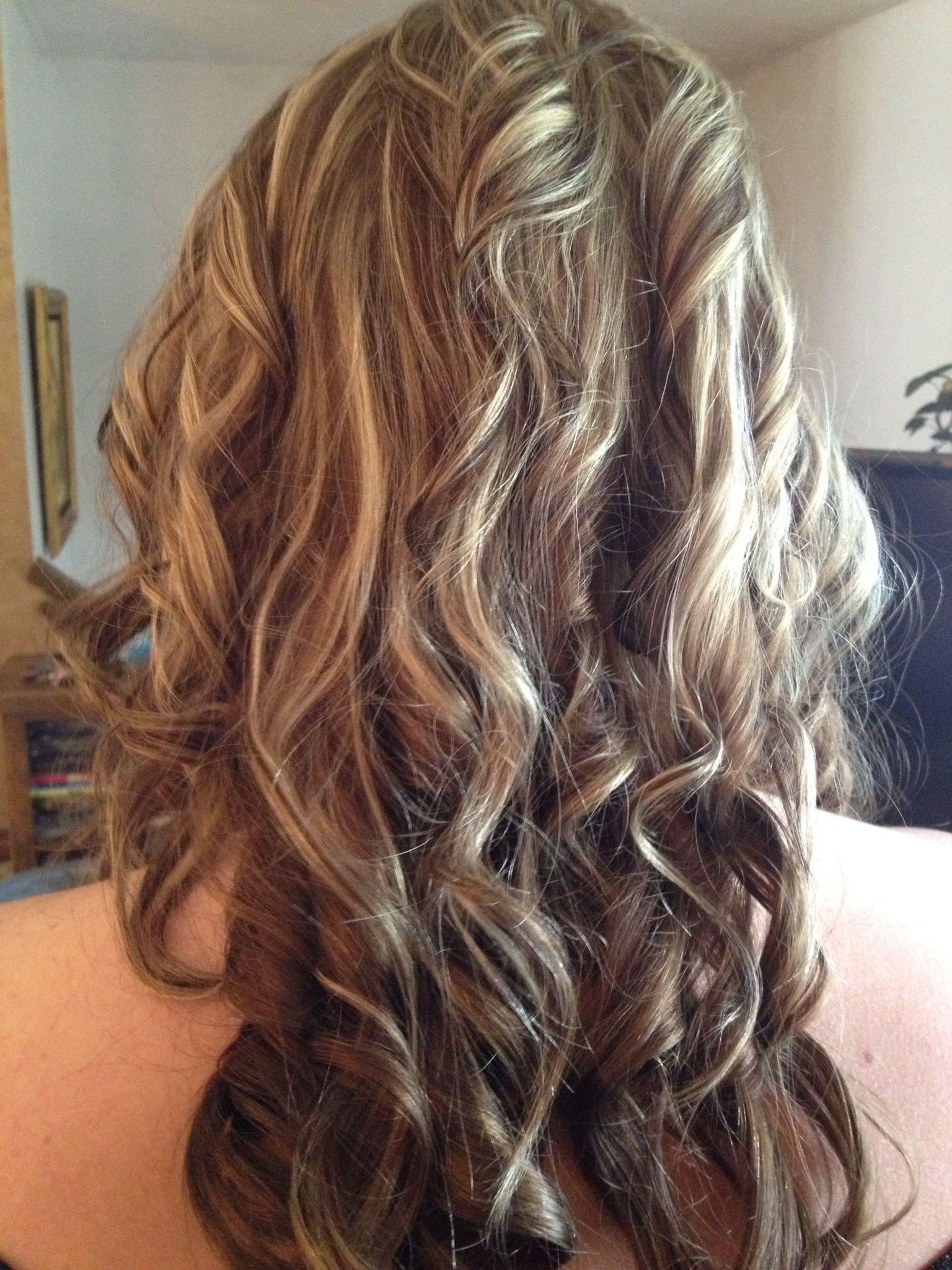 Brunette Lowlights Amp Blonde Highlights Hair Makeup