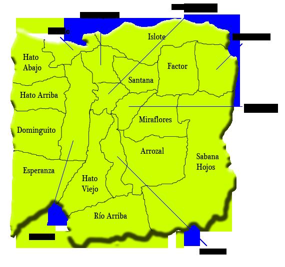 map of arecibo puerto rico Towns Of Arecibo Puerto Rico Arecibo Del Norte Ribera map of arecibo puerto rico