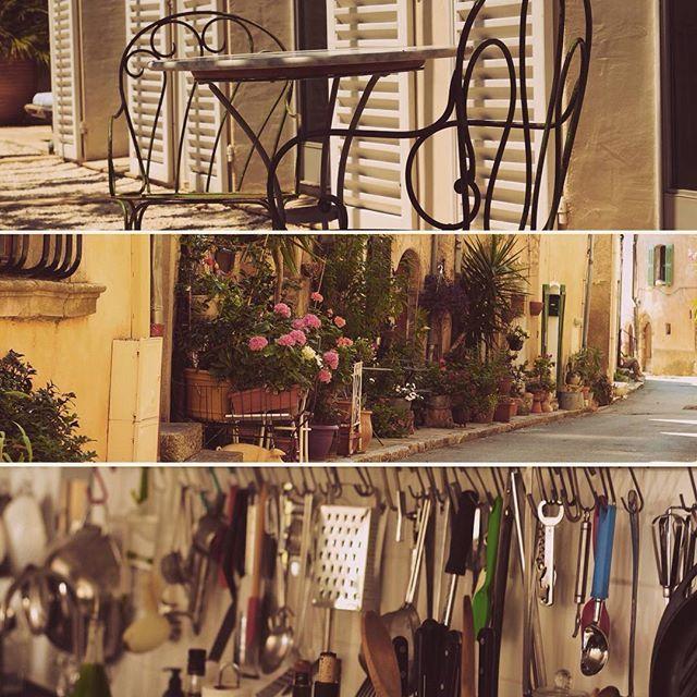 Summer holiday memories... #collage #summer #france #holidays #street #nice #kitchen #garden #terrace #flowers #kitchentools #chairs #streetgarden  Yummery - best recipes. Follow Us! #kitchentools #kitchen