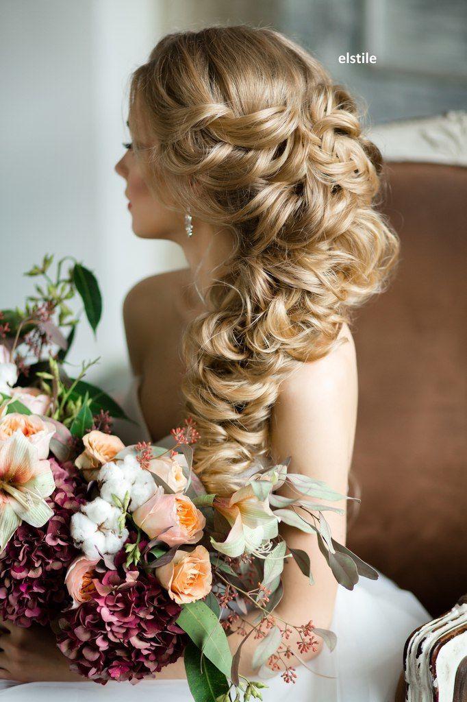 peinados para novia ideas con coletas