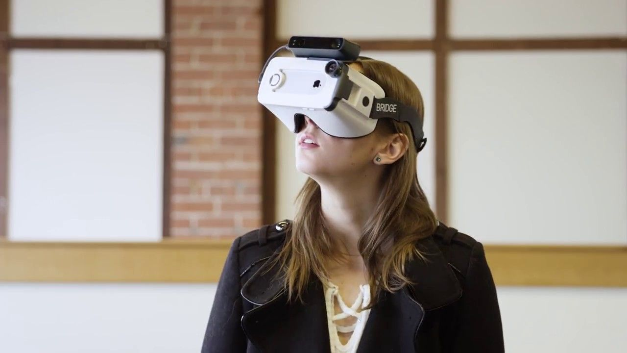 Introducing Bridge Vr Headset Virtual Reality Technology Headset