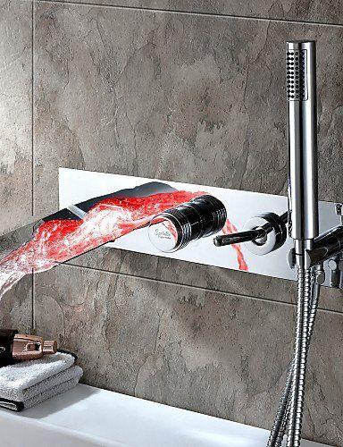 Amazing 2016 Bathroom Faucet Bath Faucet Shower Faucet Set Chrome Home Interior And Landscaping Eliaenasavecom