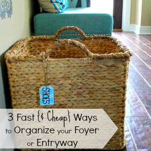 Have 15 Minutes to spare? Join me for a Fast Organize Project Under the Kitchen Sink and find out the 4 Must Haves to #GetOrganized under there...for good.