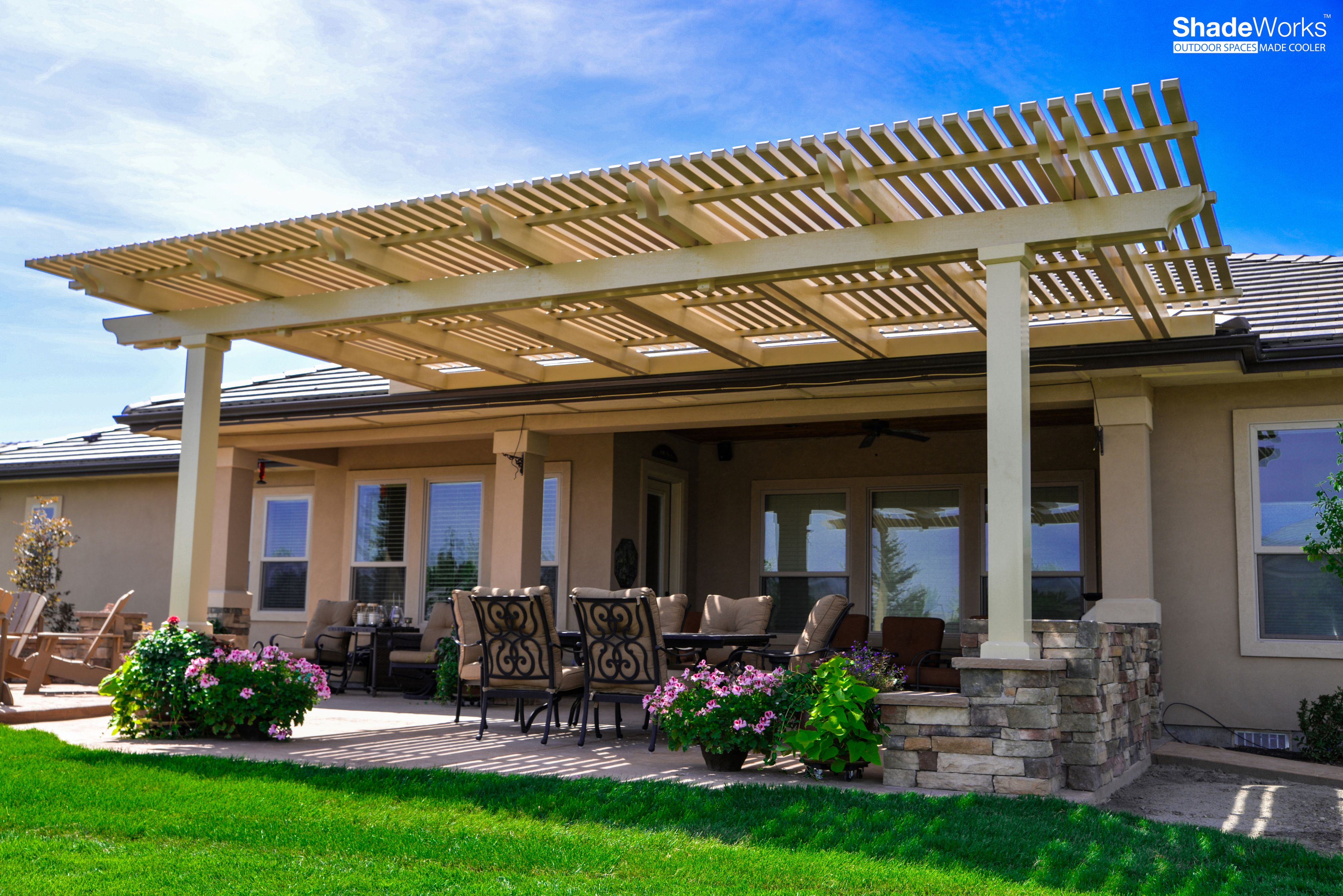 Installing A Pergola Or Patio Cover Is An Easy And