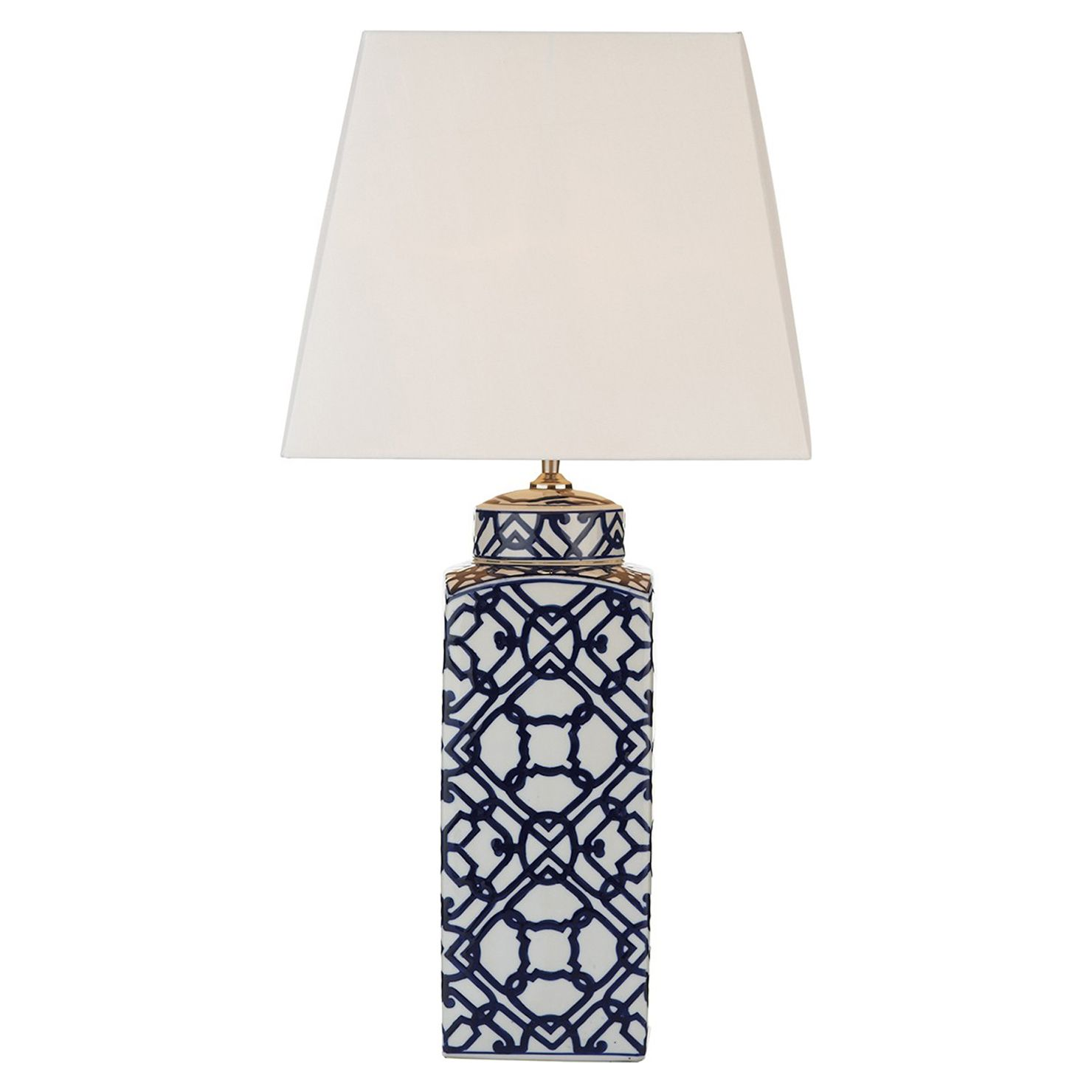 Allison ceramic lamp interiors and house dar lighting mystic single light patterned table lamp including ivory faux silk shade lighting type from castlegate lights uk geotapseo Images