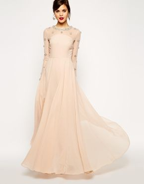 Princess Cluster Maxi\' from ASOS -- would make such a pretty long ...
