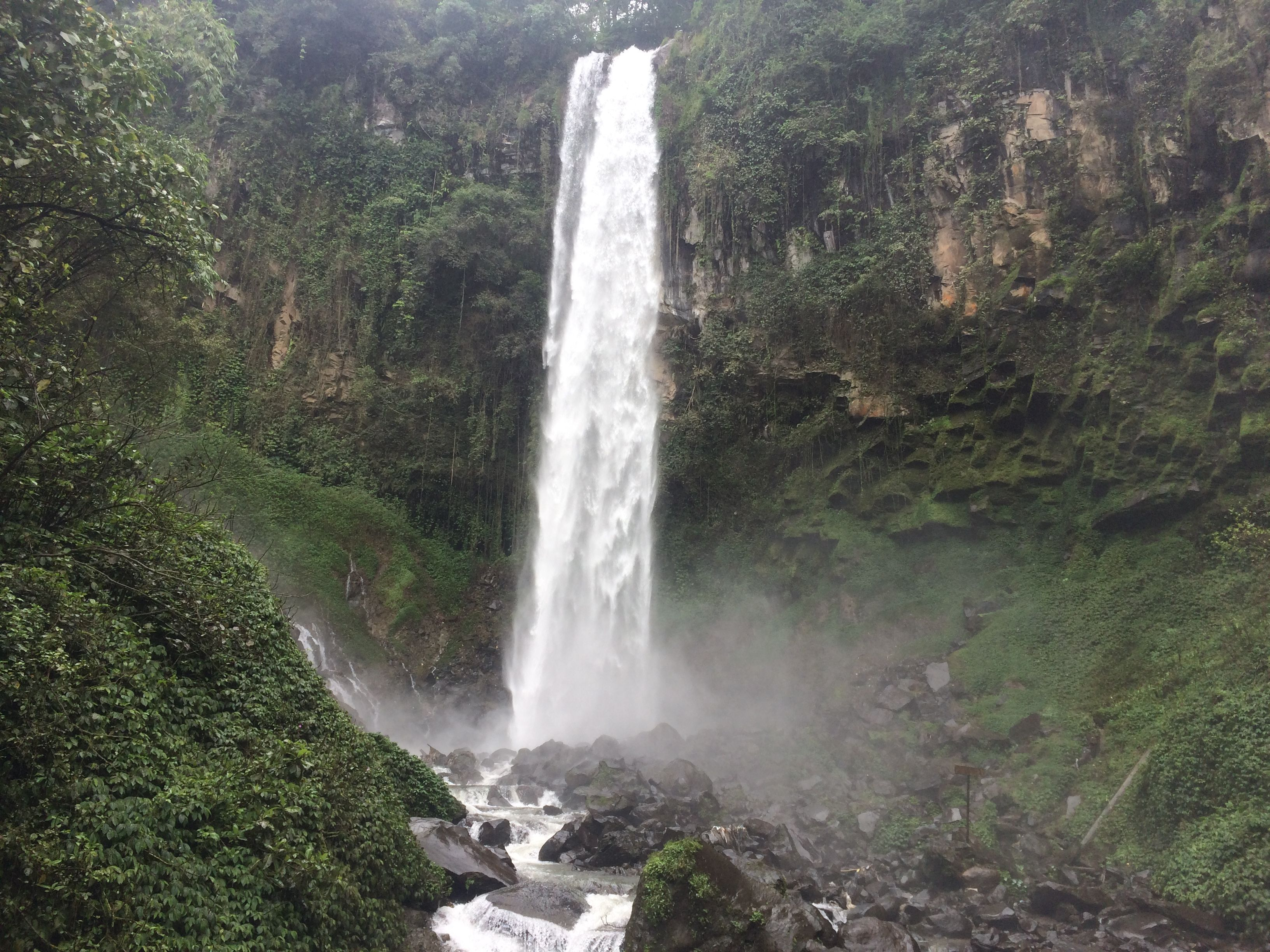 Air Terjun Gunung Lawu Tawanangu Karang Anyar Waterfall Water Outdoor