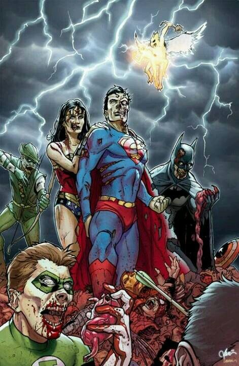 DC Zombies Vs Marvel SupermanBatman