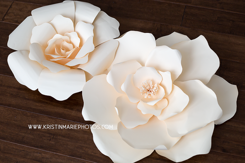 These giant paper flowers are great for putting together in a large these giant paper flowers are great for putting together in a large grouping to make a backdrop for photos or a wedding the template and video i have made mightylinksfo Choice Image