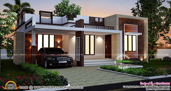 3 Beautiful Small House Plans Flat Roof House Small