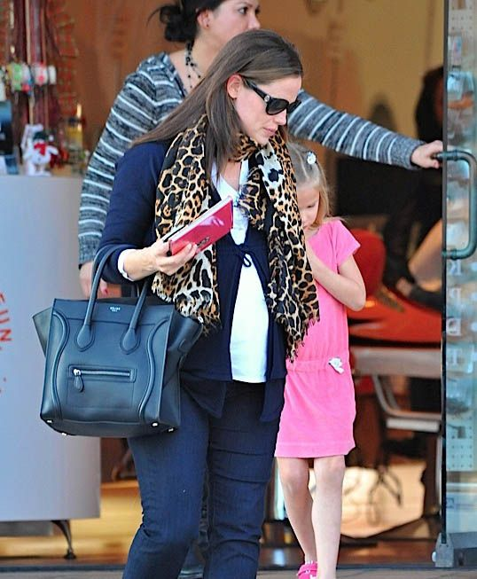 36bde4e26b8d Celebrities and their Celine Luggage Totes  A Retrospective -- Jennifer  Garner