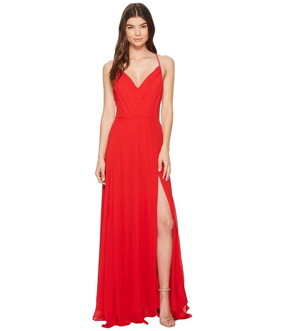 Yumi kim kat maxi womenus dress red products pinterest products