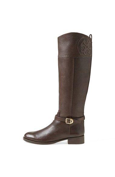6fa5e4665ff tory burch. Tory Burch  Marlene  Leather Riding Boot ...