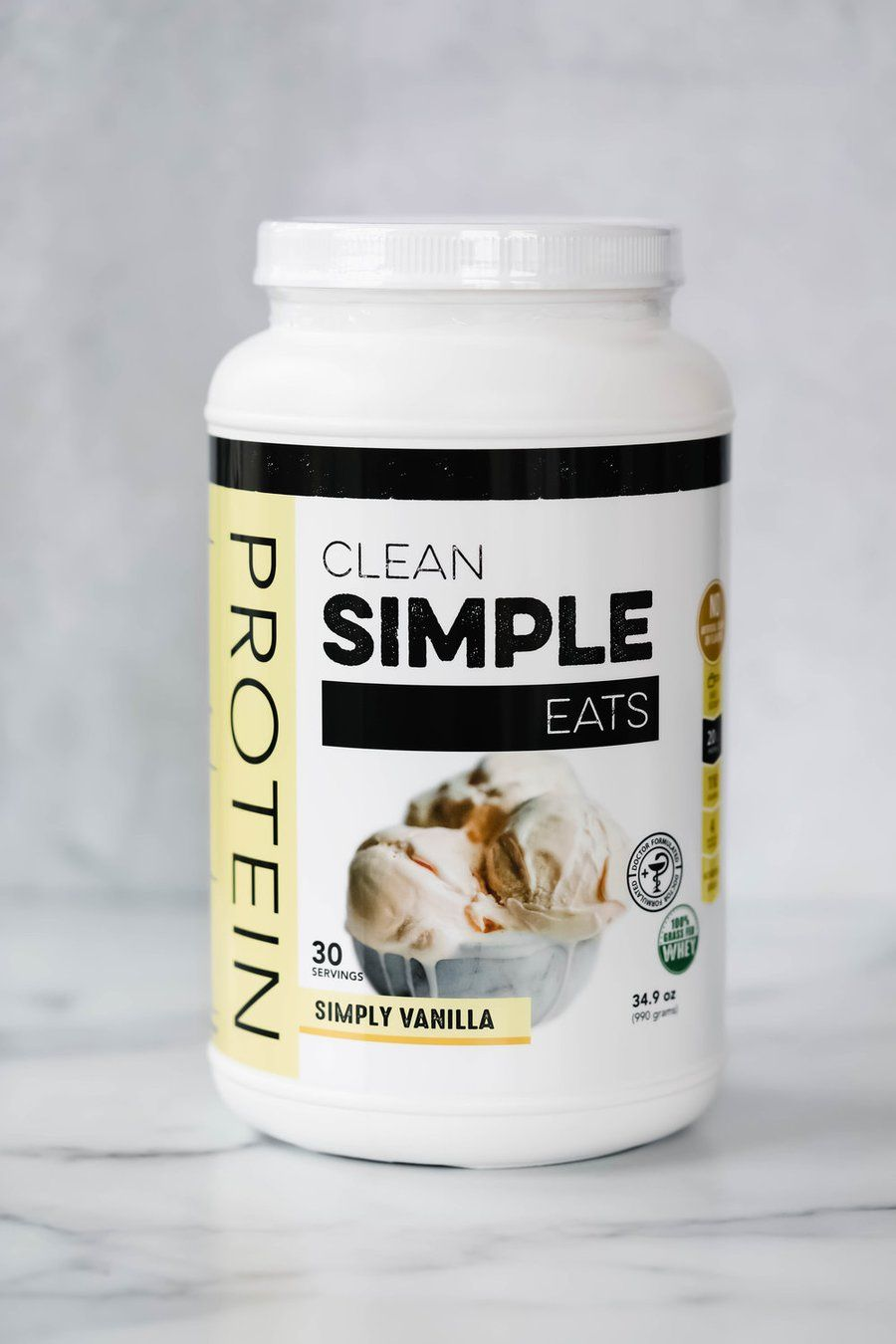 Protein Powder Simply Vanilla Clean Simple Eats Milk Protein Isolate Protein