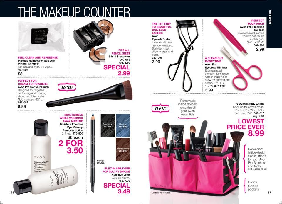 Online Brochure by Makeup counter, Makeup remover lotion