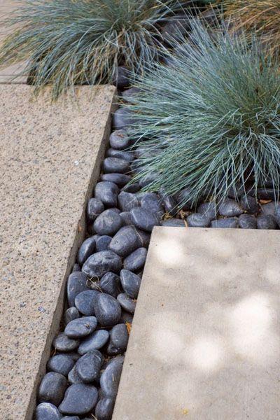 Mid Century Modern Garden Edging