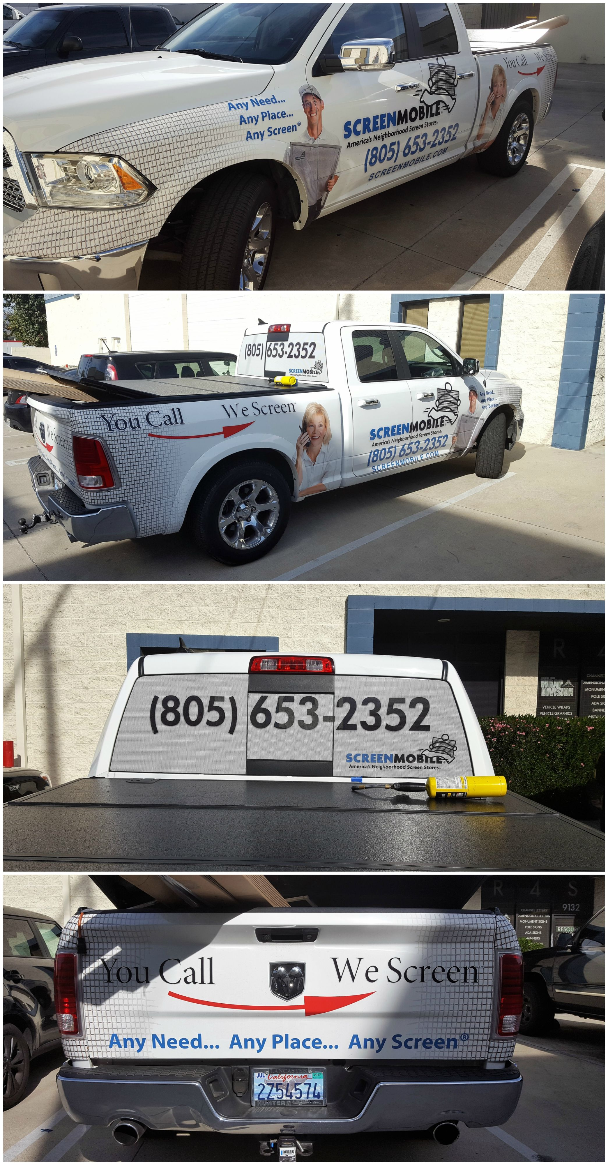 Partial Vehicle Wrap Vehicle Advertising Resource4signs