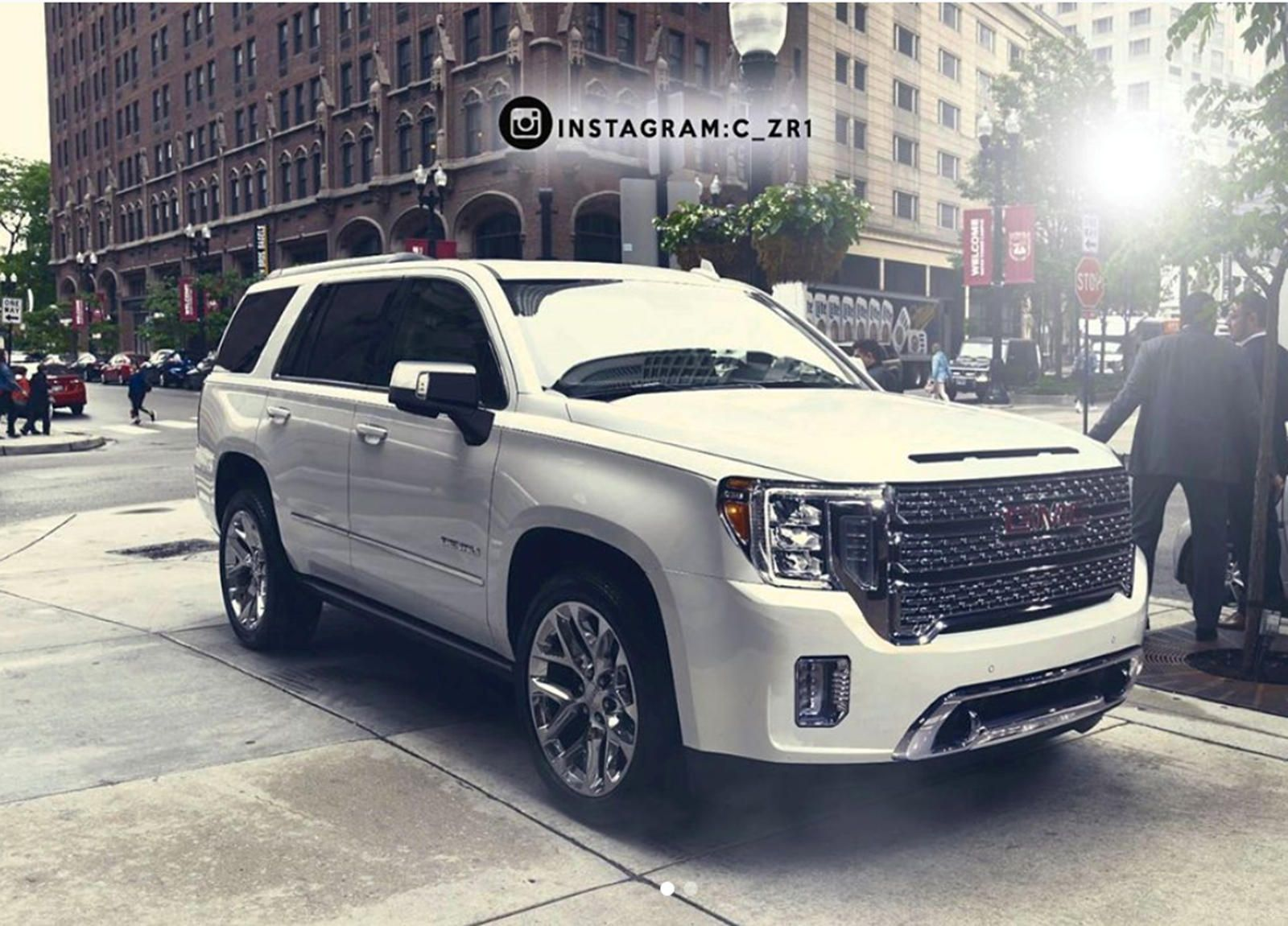 This Is When The New 2021 Gmc Yukon Will Debut Gmc Yukon Gmc Chevrolet Tahoe