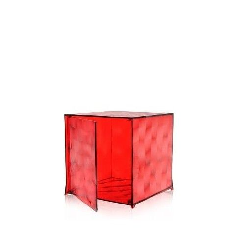 Table Basse Ou D Appoint Porte Revue Transparent Ou Colore Optic Design Patrick Jouin Par Kartell Table Basse Kartell Porte Revue