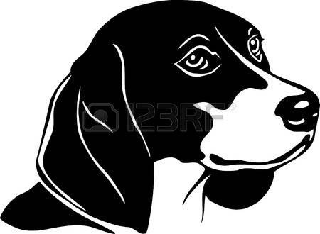 Beagle Beagle Dog Silhouette Beagle Silhouette Painting