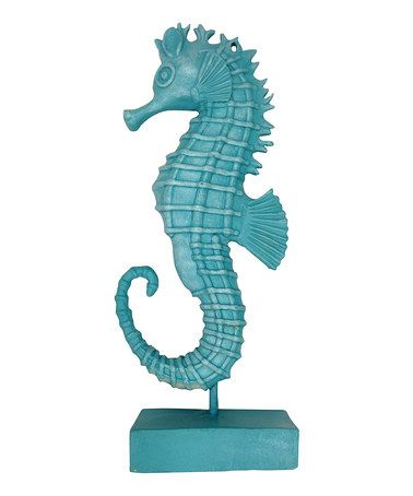 Another great find on #zulily! Sea Horse Statue #zulilyfinds
