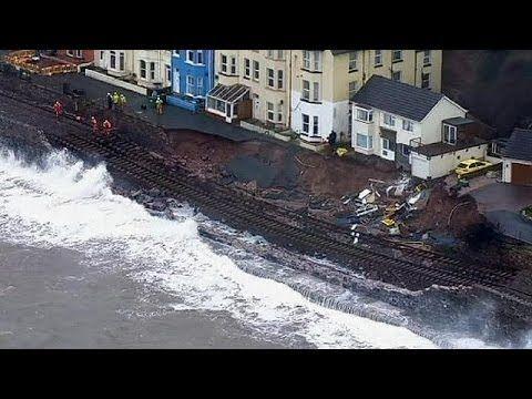 Unwetter: Von einem Tief ins Nächste - YouTube