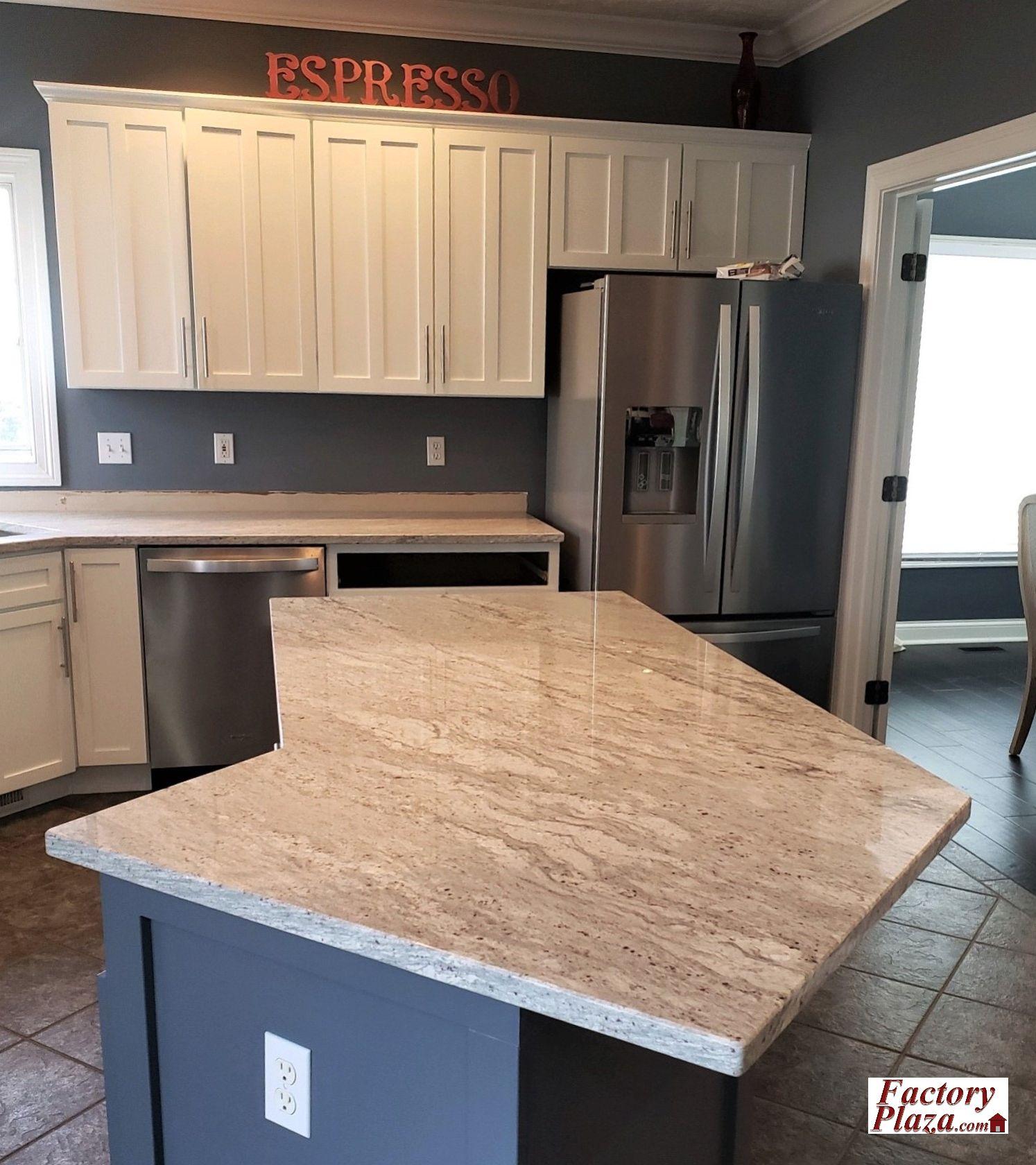 Factory Plaza Granite Kitchen in 2020 Countertops