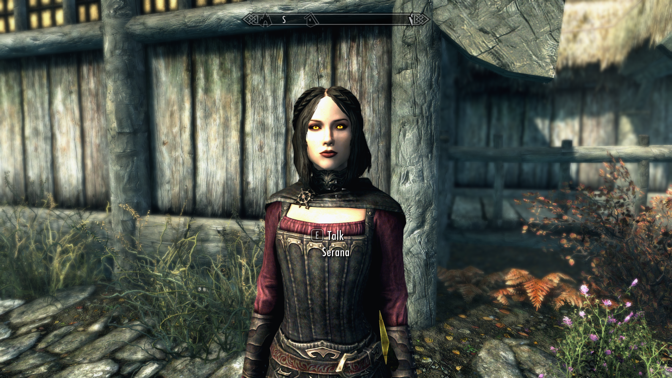 Serana Hood Removal at Skyrim Special Edition Nexus - Mods