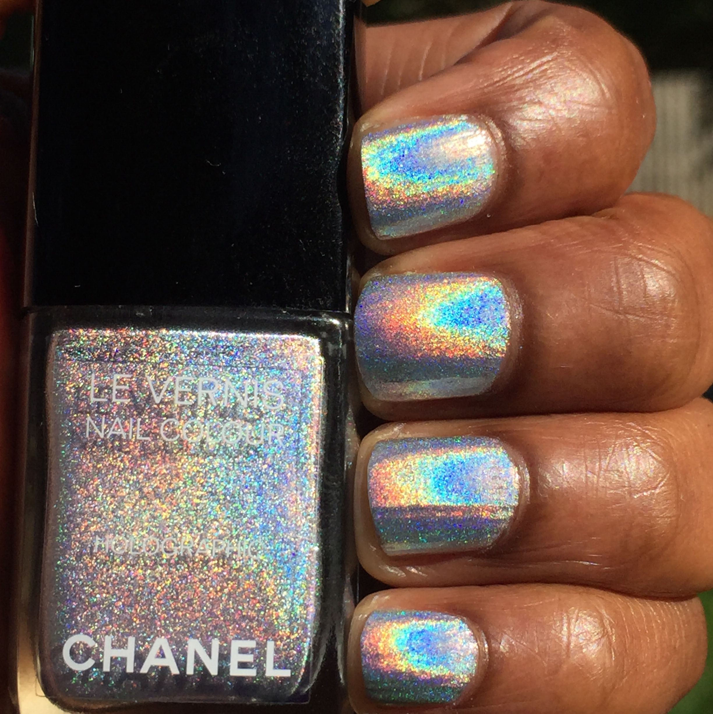 Chanel holographic nail polish | Chanel Beauty | Nails, Holographic ...