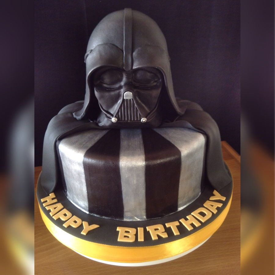 darth vader star wars cake kaden 5th birthday. Black Bedroom Furniture Sets. Home Design Ideas