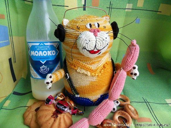 Кот из мультика крючком